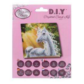 Beads Direct 'Sunshine Unicorn' Crystal Card Kit