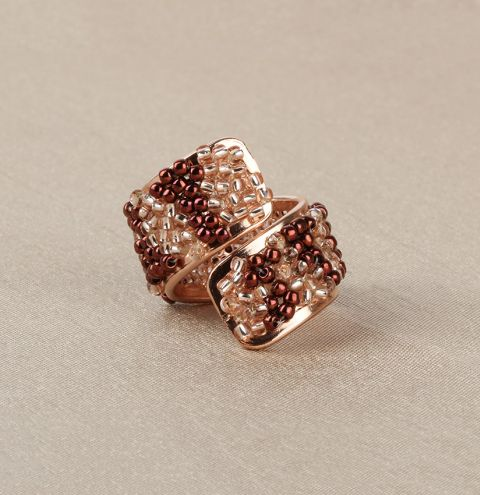 Rosaline Beaded Ring