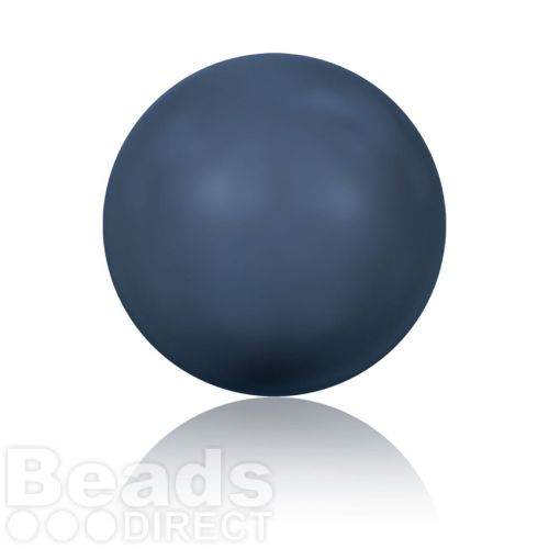 5811 Swarovski Glass Pearls 10mm Crystal Night Blue Pk100