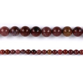 "Portugal Agate Round Semi Precious Beads 10mm 15"" Strand"
