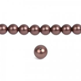 5810 Swarovski Crystal Pearls 3mm Crystal Velvet Brown Pk100