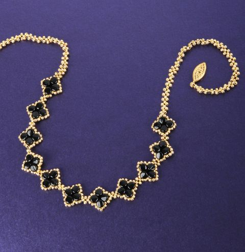 Diamond Pellet Necklace
