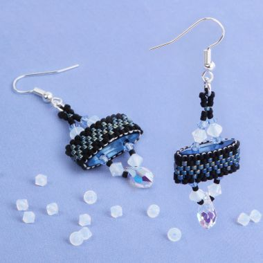 Blissful Blue Carrier Duo Earrings
