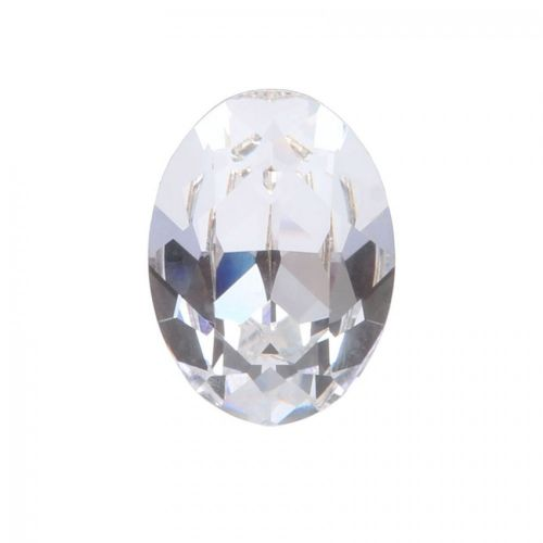 4120 Swarovski Crystal 13x18mm Oval Fancy Stone Crystal F Pk1