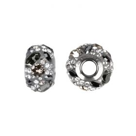 81304 Swarovski Crystal Medley BeCharmed Grey Mix Pk1