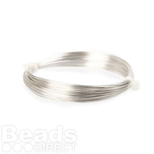 Silver Plated Copper Wire 0.60mm 10metre Coil