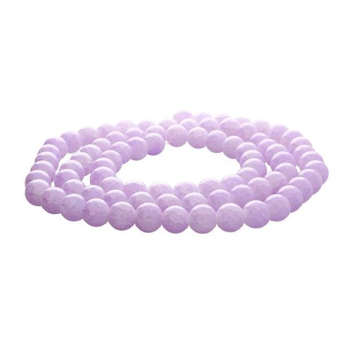 Mistic™ / round / 10mm / pale purple / 80pcs