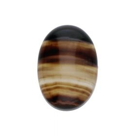 Sardonyx / cabochon / oval / 10x14x5mm / 1pcs