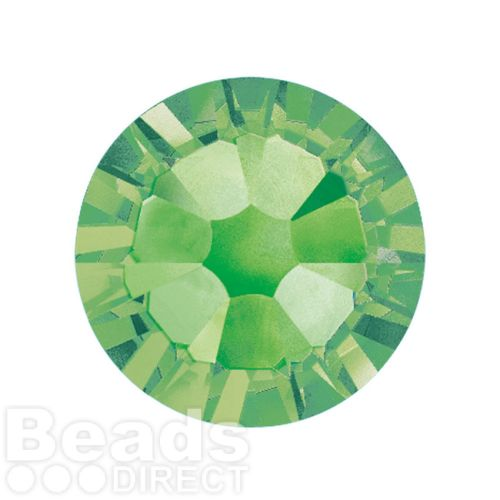 2088 Swarovski Crystal Flat Backs Non HF 7mm SS34 Peridot F Pk144