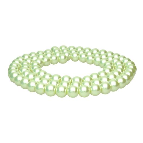SeaStar™ / glass pearls / round / 8mm / pistachio / 110pcs