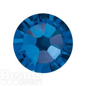 2088 Swarovski Crystal Flat Backs Non HF 7mm SS34 Capri Blue F Pk144