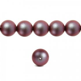 5810 Swarovski Glass Pearl 8mm Crystal Iridescent Red Pk25