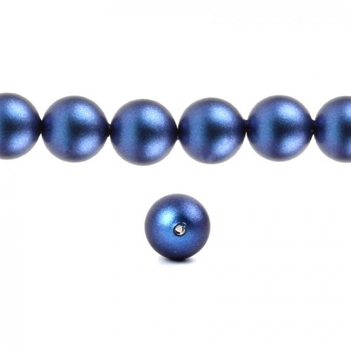 5810 Swarovski Crystal Pearls 6mm Crystal Iridescent Dark Blue Pk50