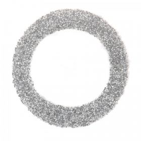 Swarovski Crystal Letter 'O' Self-Adhesive Fabric-It Transparent CAL Pk1