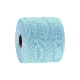 BEADSMITH ™ / thread SuperLon Fine / nylon / Tex 135 / Light Blue / 0.5mm / 108m