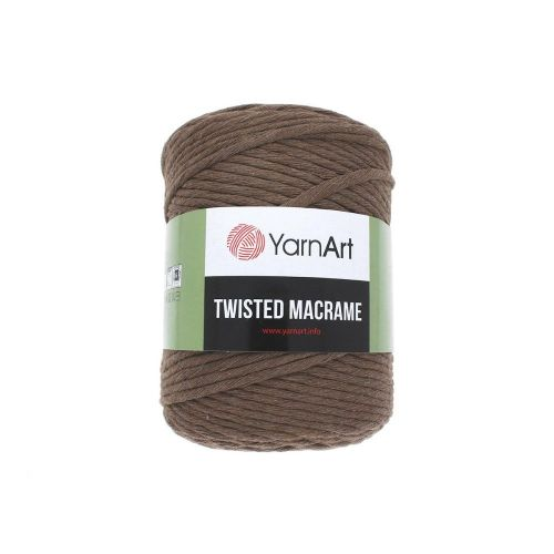 YarnArt ™ Macrame Twisted / cord / 60% cotton, 40% viscose and polyester / colour 788 / 500g / 210m