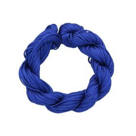 Mcord ™ / Macramé cord / nylon / 1mm / blue / 27m