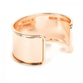Rose Gold Plated Bangle Base 73x55mm Space for Cord Diameter-167mm Pk1