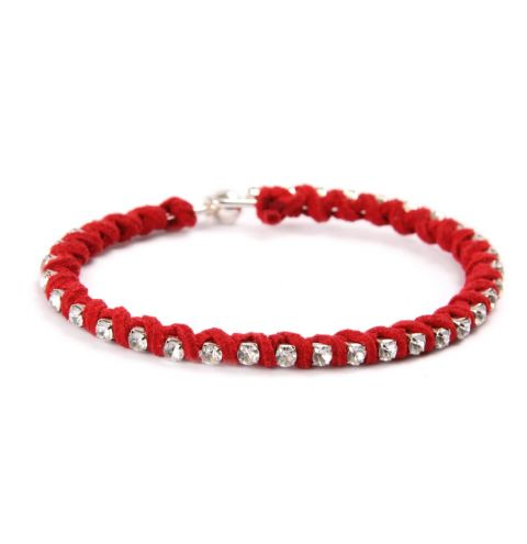 City Life Red Bangle