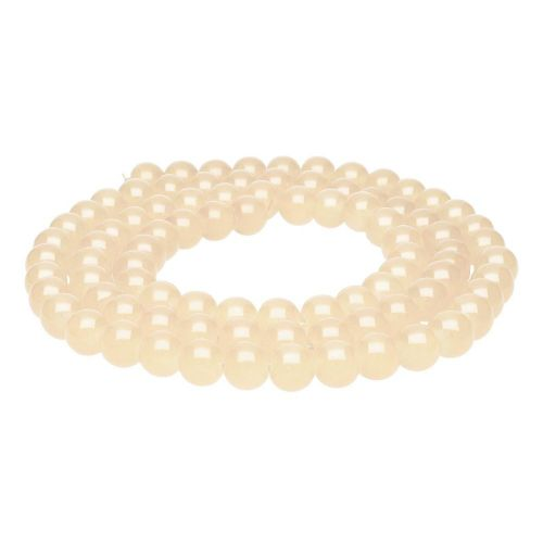 MIST ™ with a defect / round / 10mm / peach / 85pcs