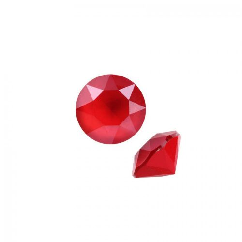 """X"" 1088 Swarovski Crystal Chaton SS39 8mm Crystal Royal Red Pk2"