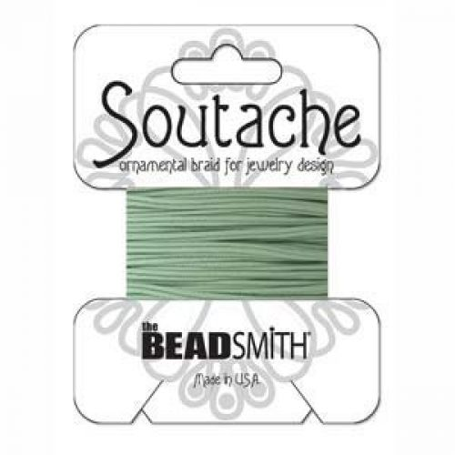 Mint Polyester Soutache Cord Beadsmith 3yds
