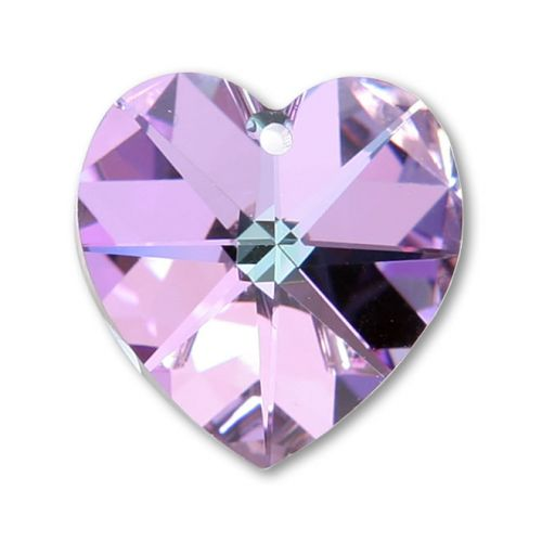6228 Swarovski Crystal Heart 17.5x18mm Vitrail Light Pk1
