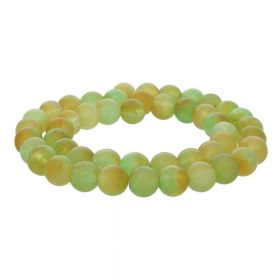 Agate / round / 8mm / green / 48pcs