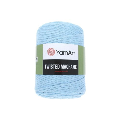 YarnArt ™ Macrame Twisted / cord / 60% cotton, 40% viscose and polyester / colour 760 / 500g / 210m