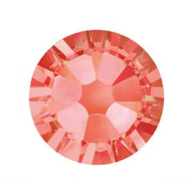 2088 Swarovski Crystal Flat Backs Non HF 7mm SS34 Padparadscha F Pk144
