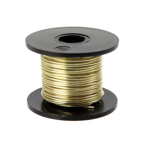 Supa Champagne Coloured Copper Craft Wire 0.9mm 8metre Reel