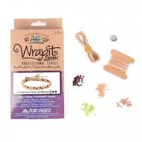 Wrapit Loom Peach Beginner Kit - Single Wrap Bracelet Makes 1