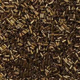 Toho Bugle Seed Beads Size 1 3mm Bronze 10g