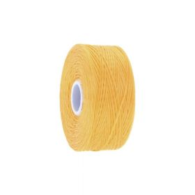 BEADSMITH ™ / thread S-LON D / nylon / Tex 45 / Forsythia / 70m