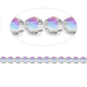 5000 Swarovski Crystal Faceted Rounds 3mm Crystal AB Pk12