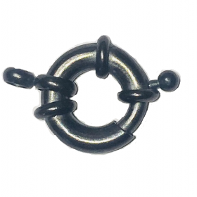 Nautical clasp / gunmetal / 14mm / 1pcs