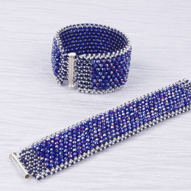 Crystal Winter Cuff