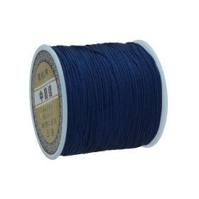 Macramé™ / Macramé cord / nylon / 0.8mm / navy blue / 100m