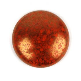 Par Puca Large Cabochon 25mm Opaque Hyacinth Bronze Pk1