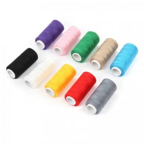 Assorted Colour Polyester Embroidery Thread (40s/2) Pk10