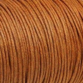 Waxed cord / 1.5mm / brown / 1m