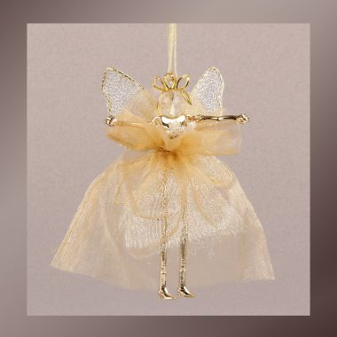 'Golden Angel' Doll Pendant