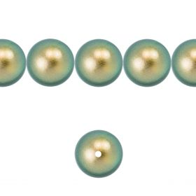 5811 Swarovski Glass Pearls 10mm Crystal Iridescent Green Pk10