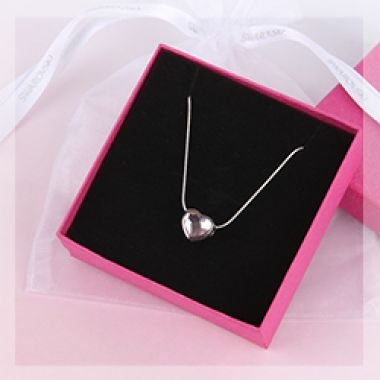 Rosaline Heart Necklace