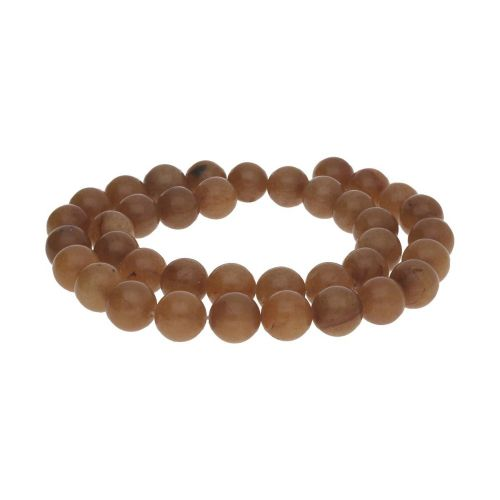 Agate / round / 3mm / milky chocolate / 120pcs