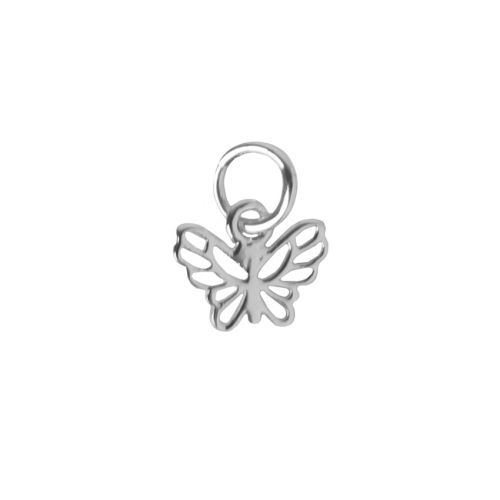 x Sterling Silver 925 Filigree Small Butterfly 7.5x10mm Pk1