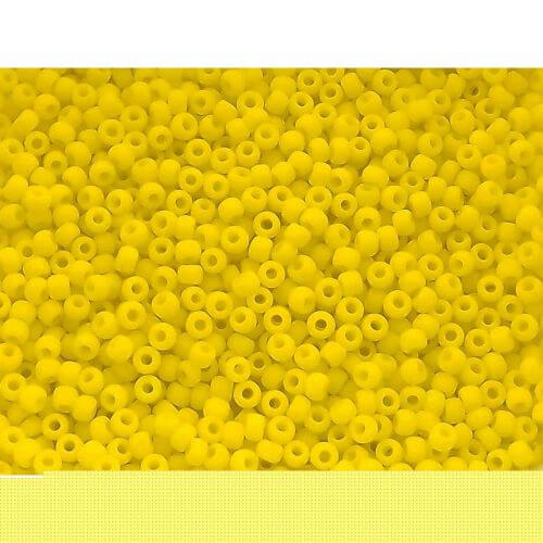 TOHO ™ / Round 8/0 / Opaque-Frosted / Dandelion / 8/0 / 10g / ~ 300pcs