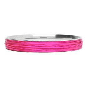 Elastoma / jewellery elastic / 0.5x0.8mm / fuchsia / 5m