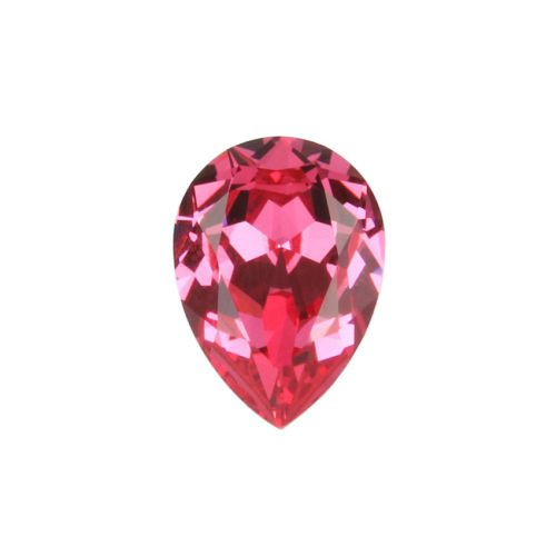 4320 Swarovski Crystal 13x18mm Drop Fancy Stone Rose F Pk1