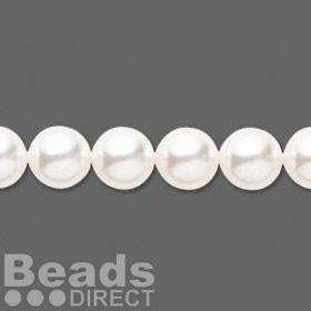 5810 Swarovski Glass Pearls 8mm White Pk25